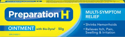 Preparation H Ointment Packshot