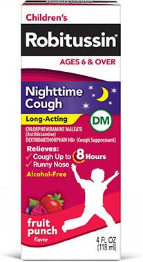 Product childrens nighttime cough long acting DM