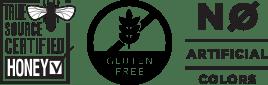 True Source Certified Honey, Gluten Free, No Artificial Colors