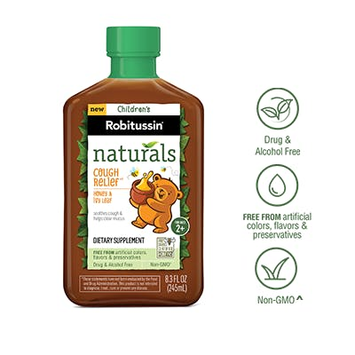 Naturals Cough Relief†* Dietary Supplement