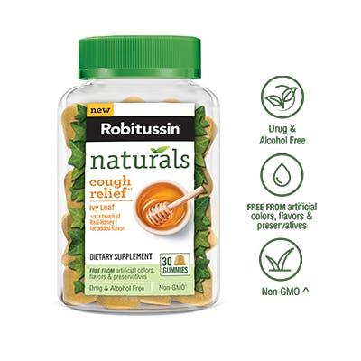 Naturals Cough Relief†* Gummies Dietary Supplement