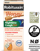 Robitussin Honey Nighttime Cough DM