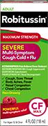 Maximum Strength Severe Multi-Symptom Cough Cold + Flu