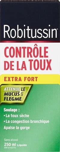Robitussin Contrôle De La Toux Extra Fort