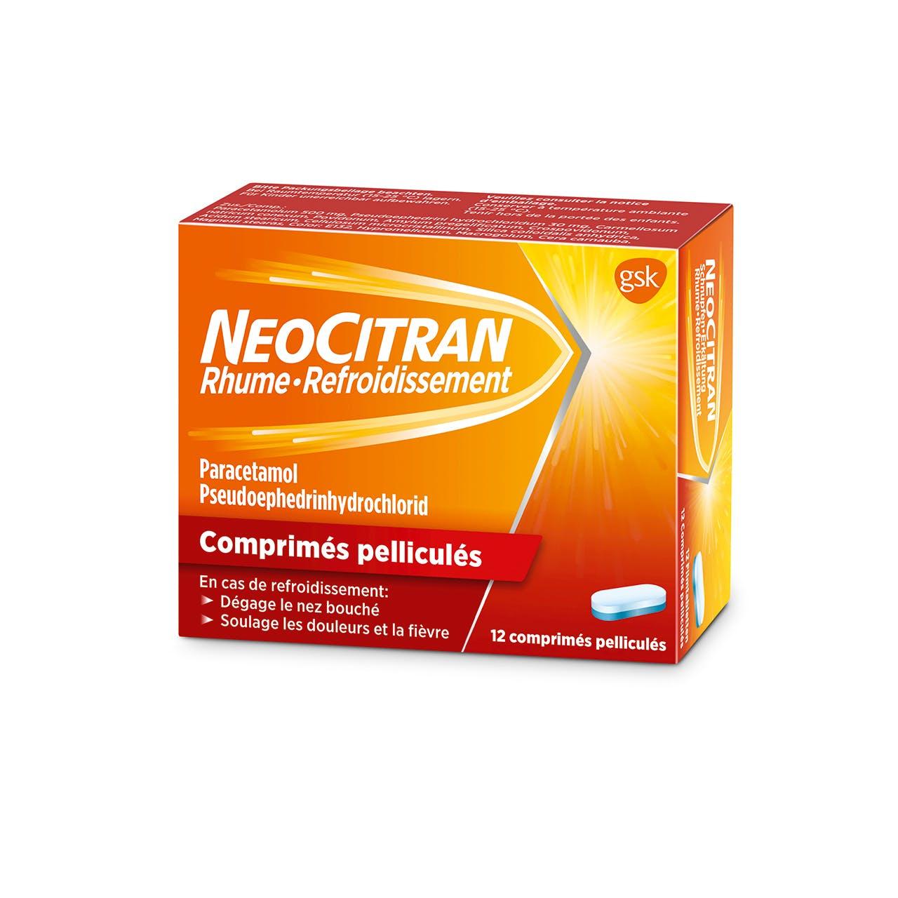 NeoCitran Rhume/refroidissement le traitement en comprimés
