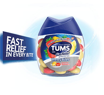 TUMS Chewy Bites with Gas Relief