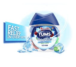 TUMS Chewy Bites Cooling Sensation