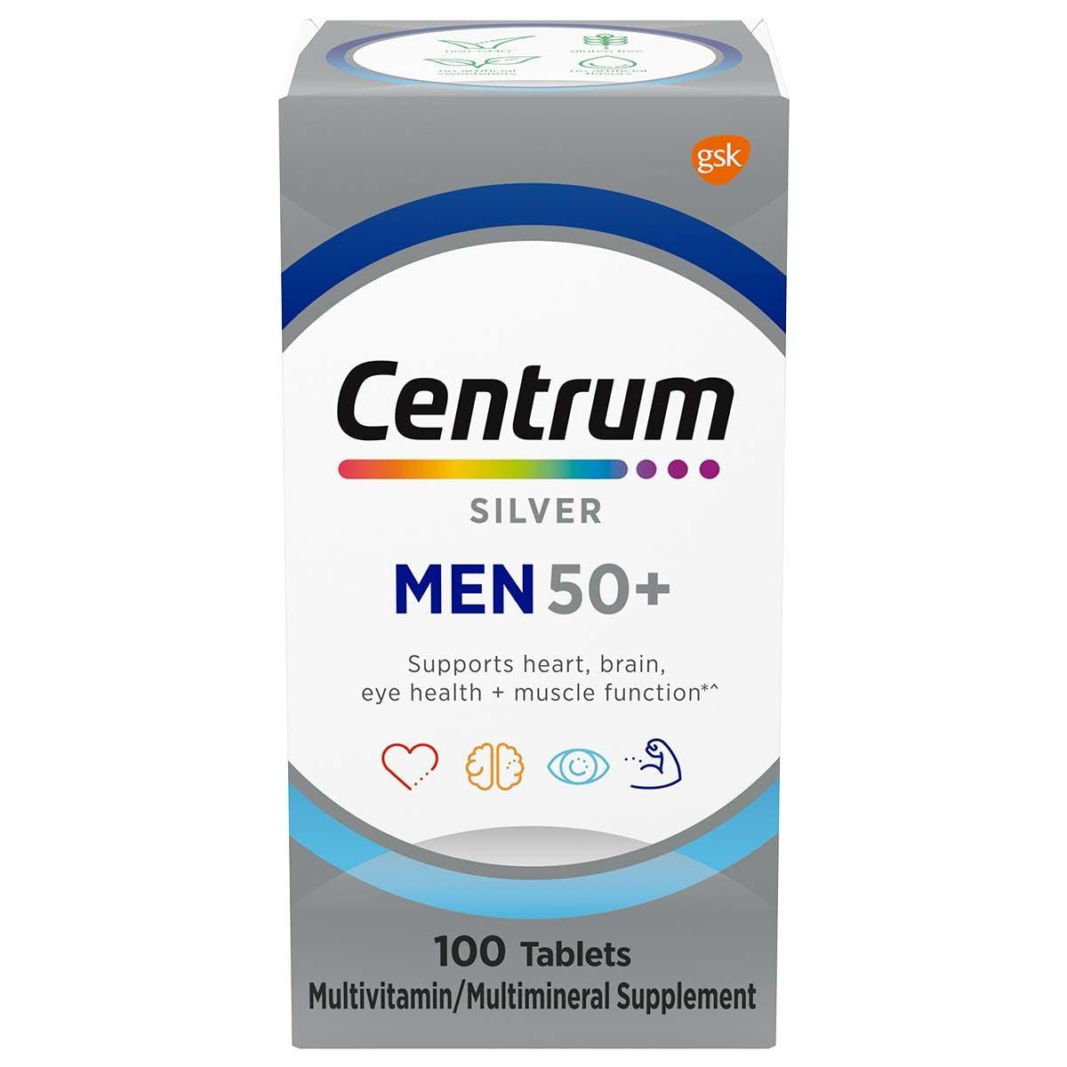 Centrum silver men multivitamins - previous packadging