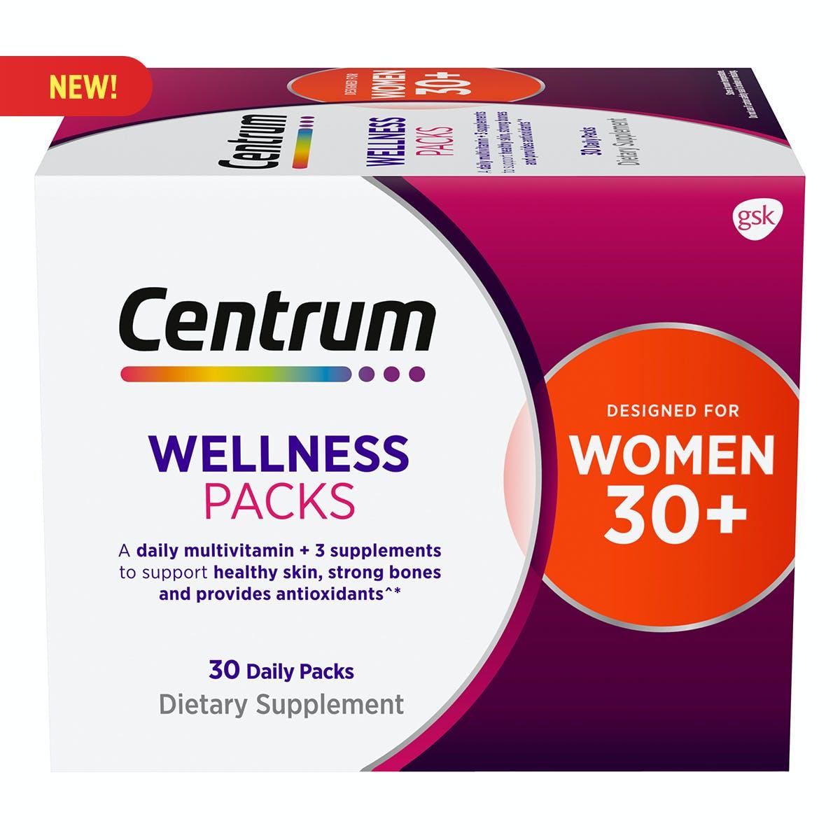Centrum Daily Vitamin Packs Women 30+