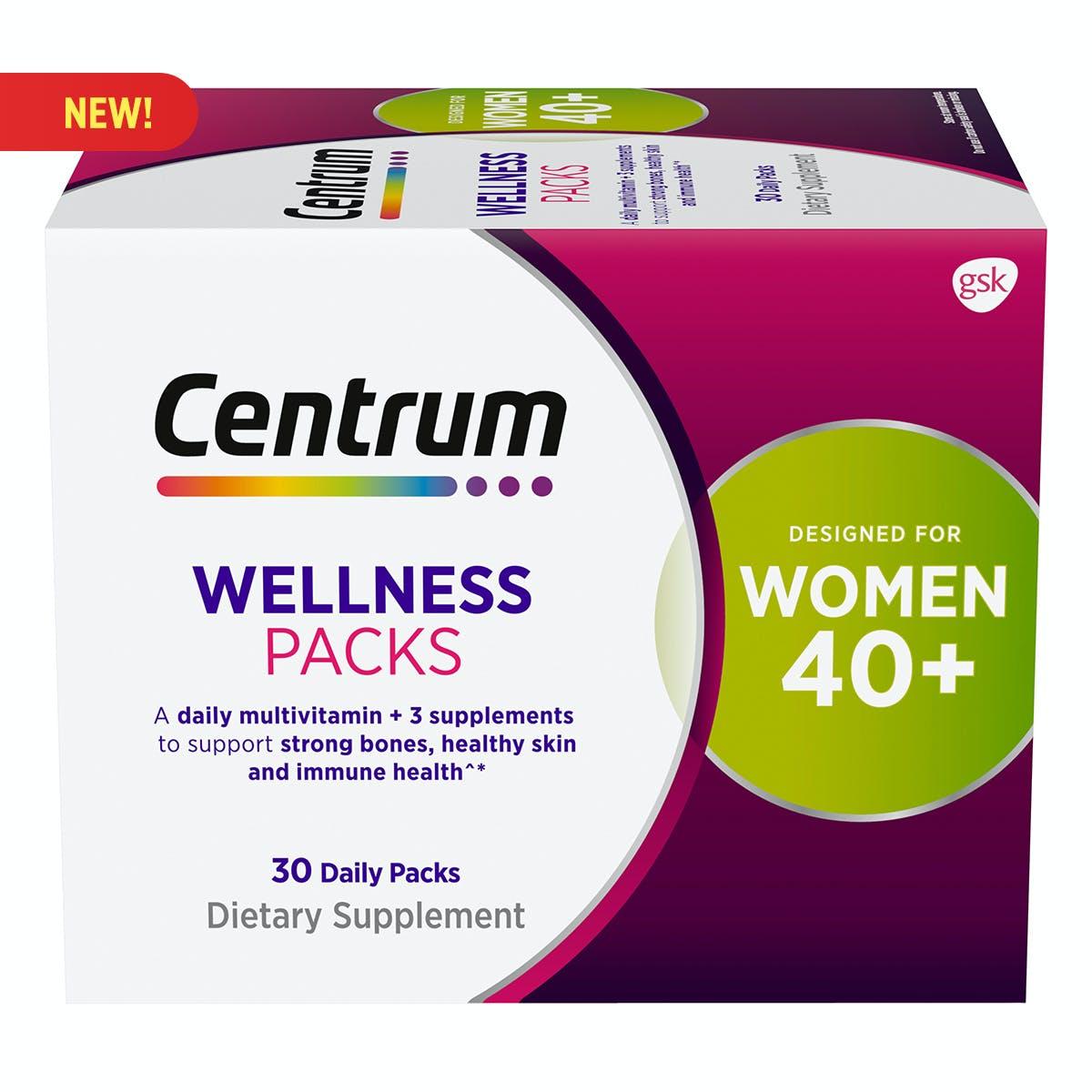 Centrum Daily Vitamin Packs Women 40+