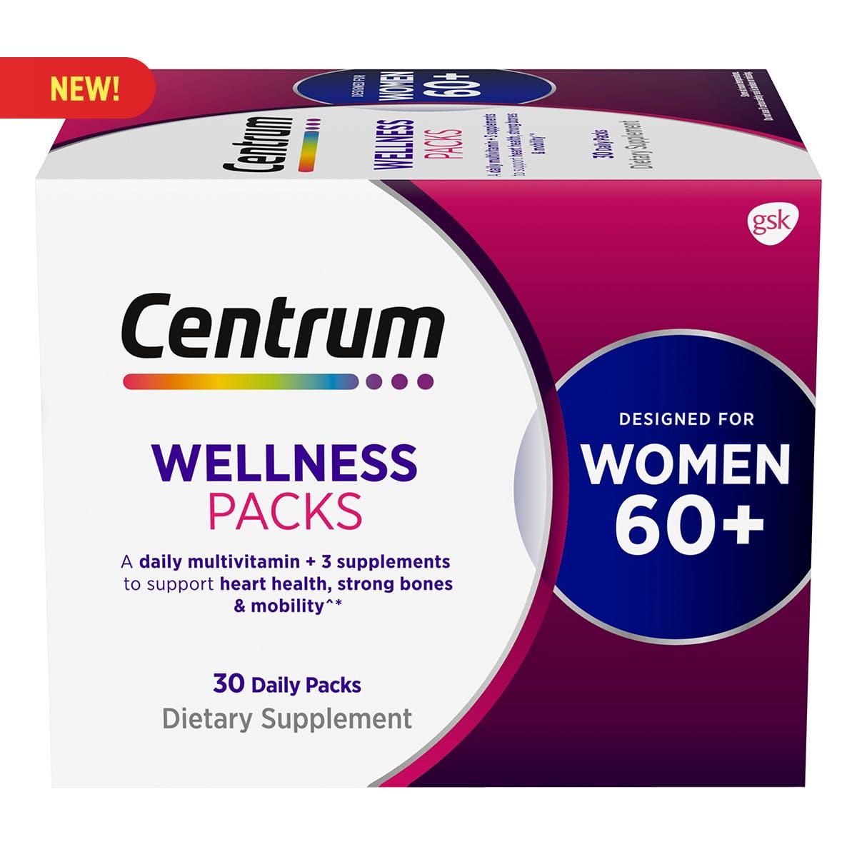Centrum Daily Vitamin Packs Women 60+