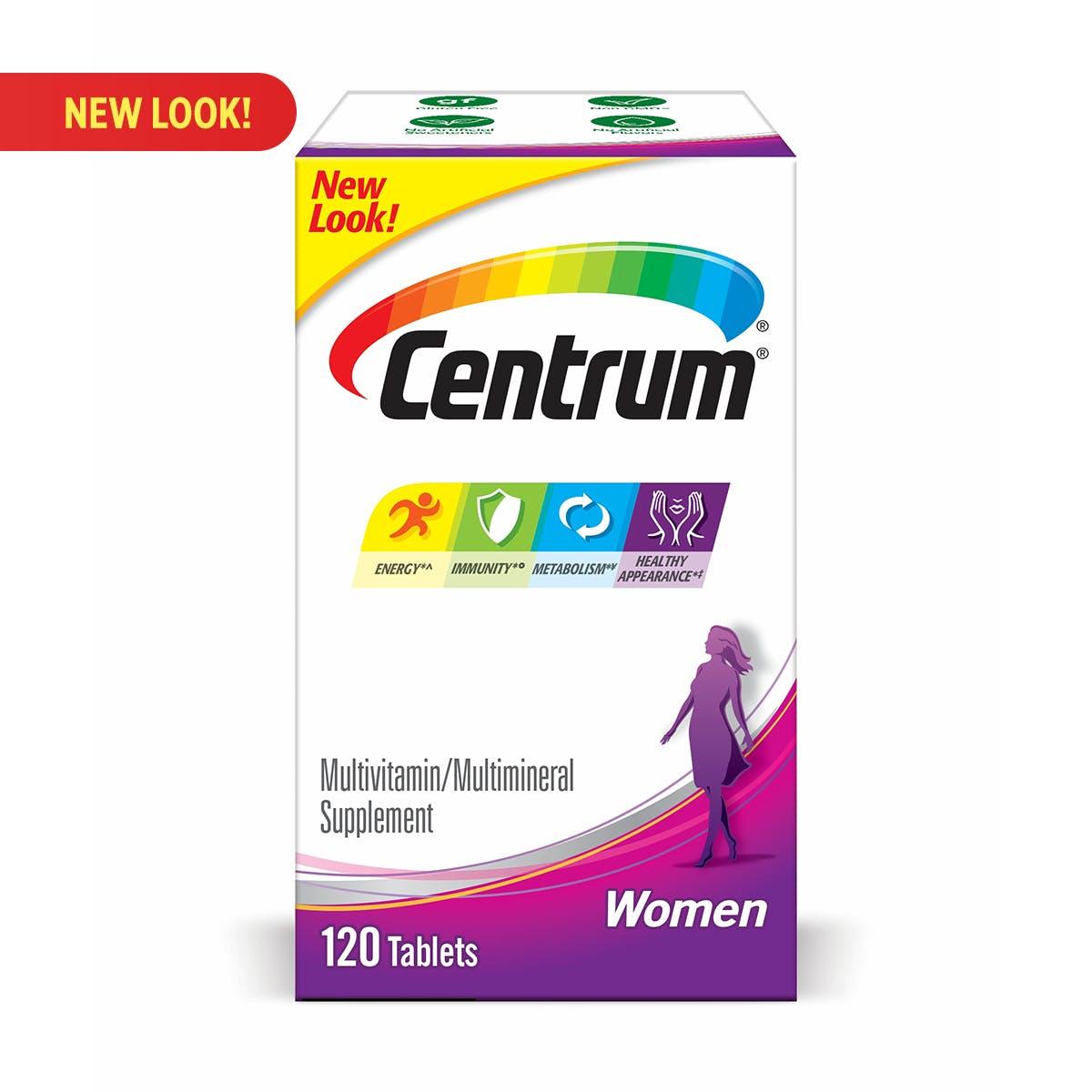Box of Centrum Women multivitamins