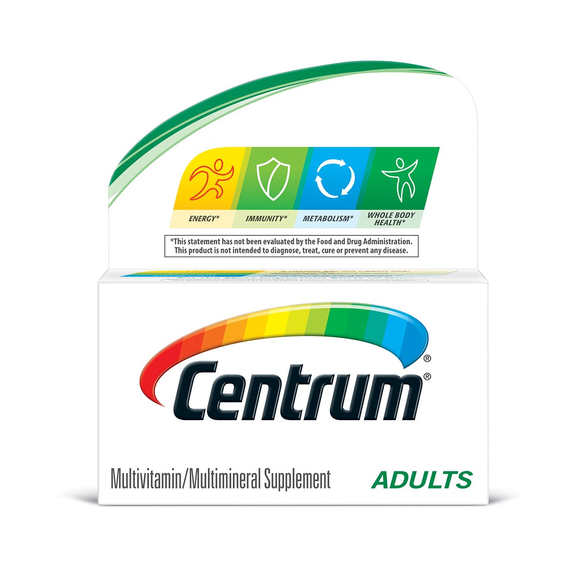 Centrum Adults multivitamins - previous packaging