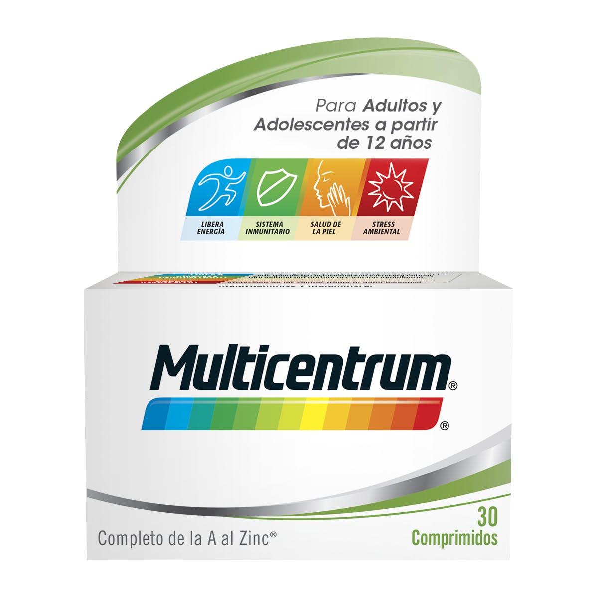Bote Multivitaminas para adultos - Multicentrum