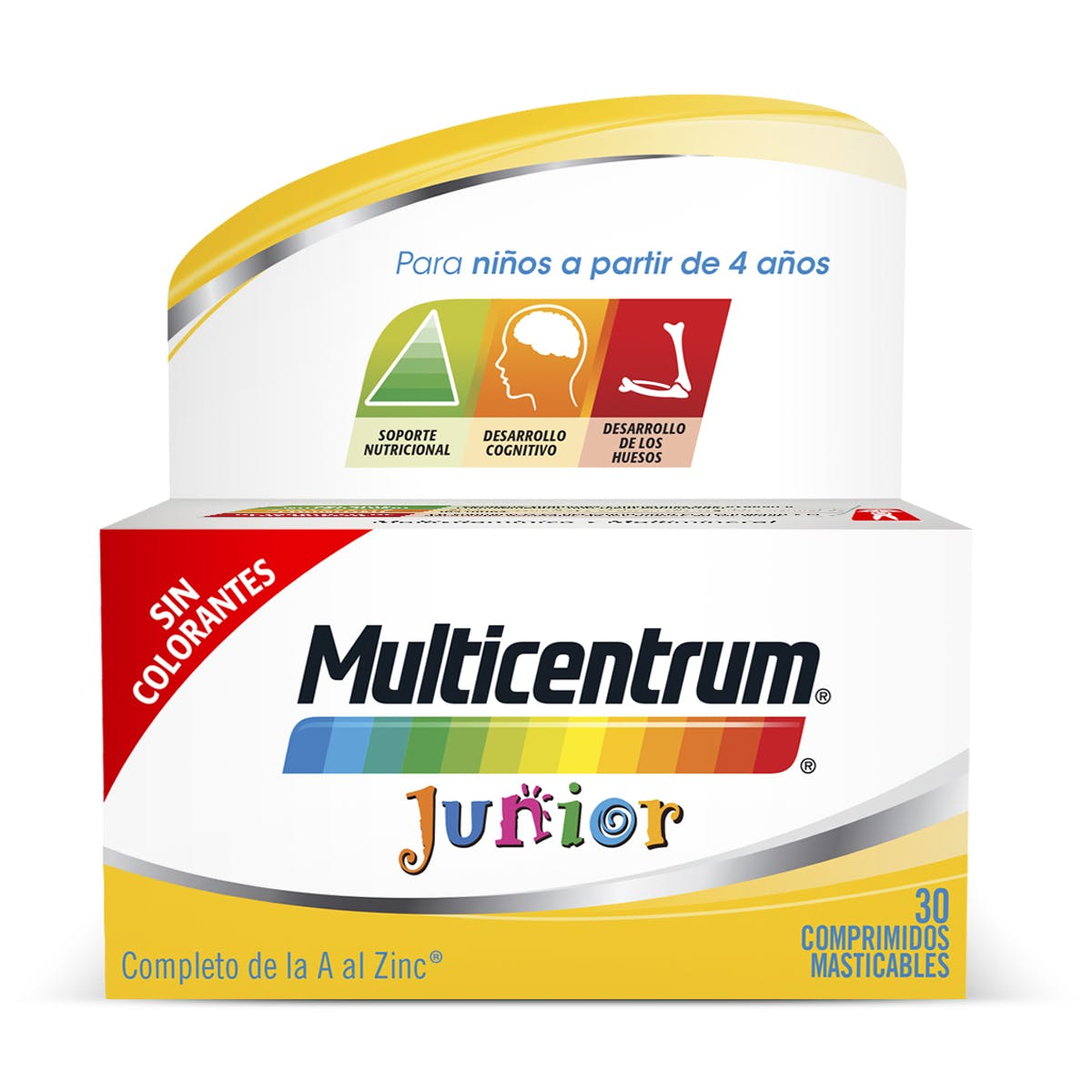 Bote Multivitaminas para niños - Multicetrum