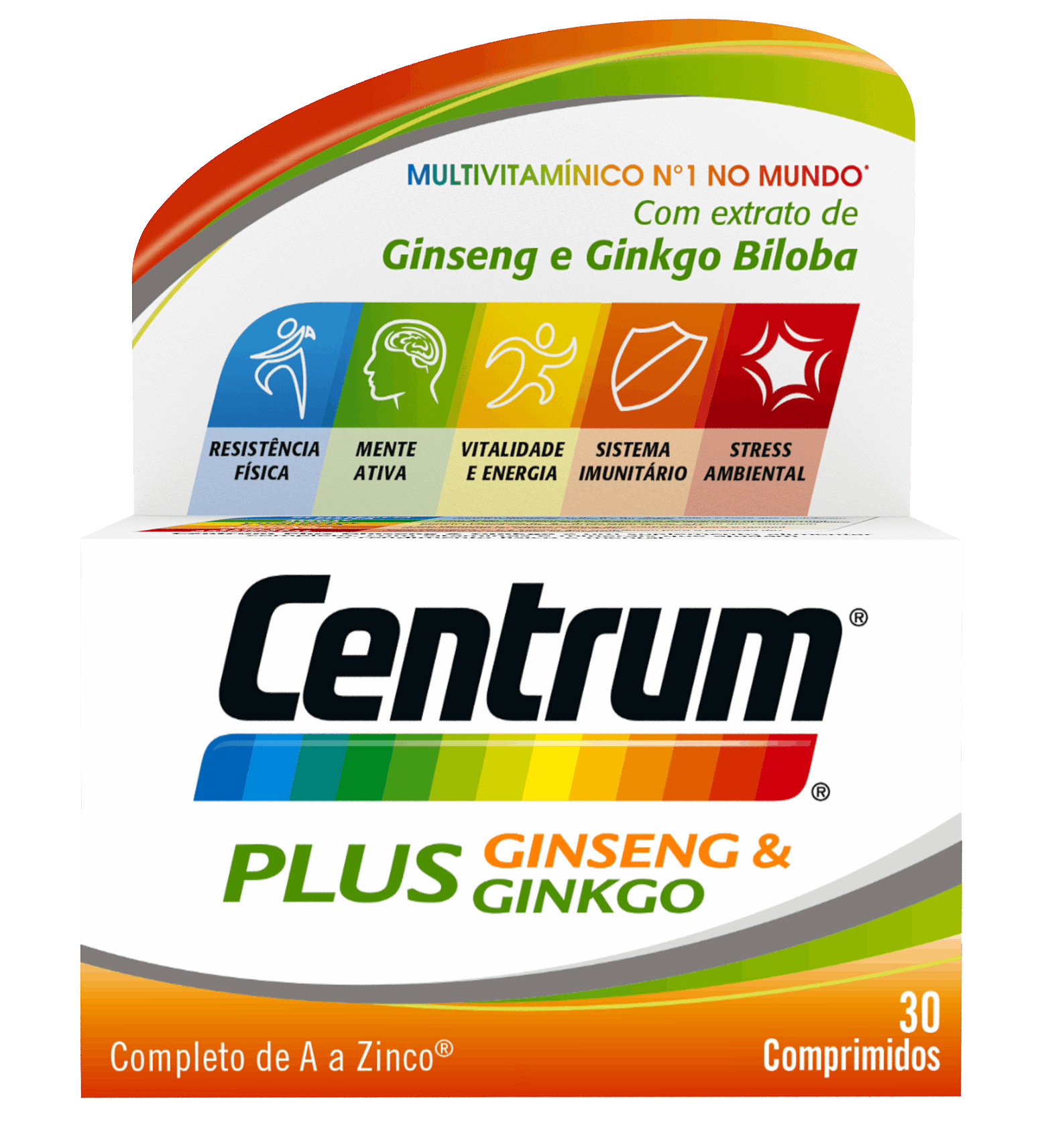 Centrum Plus Ginseng & Ginkgo