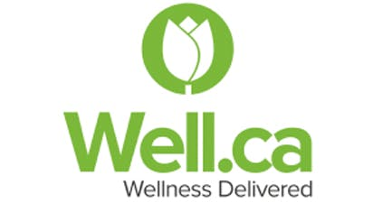 Well.ca Logo   Wellness Delivered