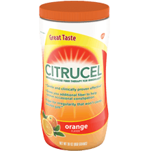 Citrucel Fiber Orange Mix Powder