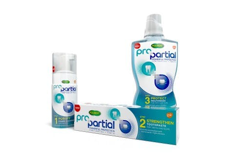 ProPartial product range pack shots