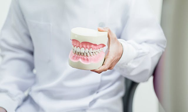 close up image of Local Denture Care Expert