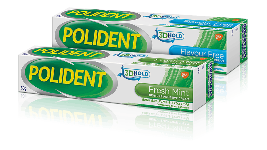 Super Poligrip® Denture Adhesives