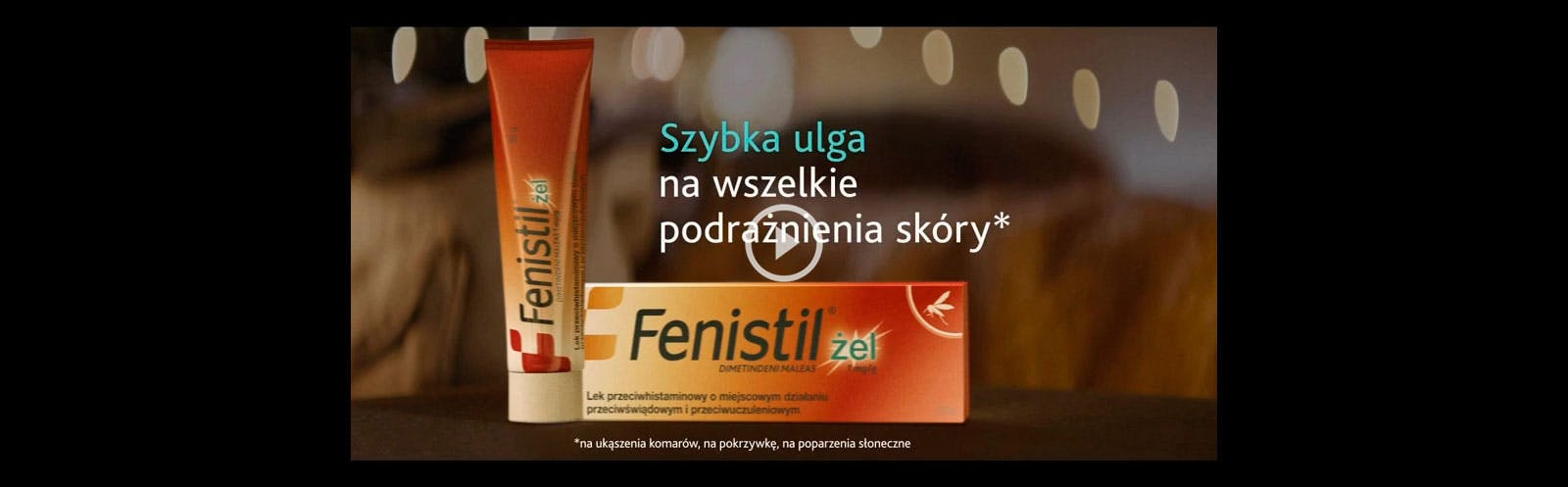 Wideo - Fenistil szybka ulga