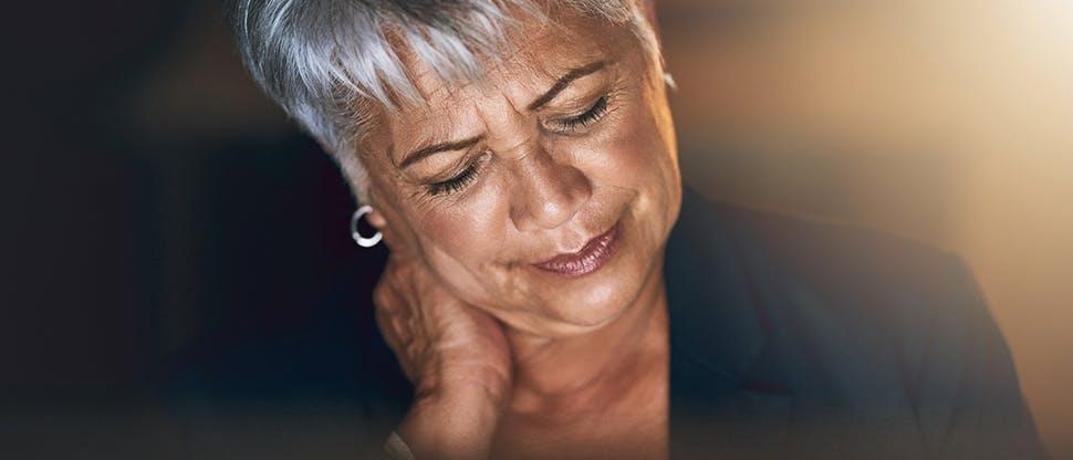 Elke wünscht sich wirksame Schmerzlinderung und schnelle Heilung