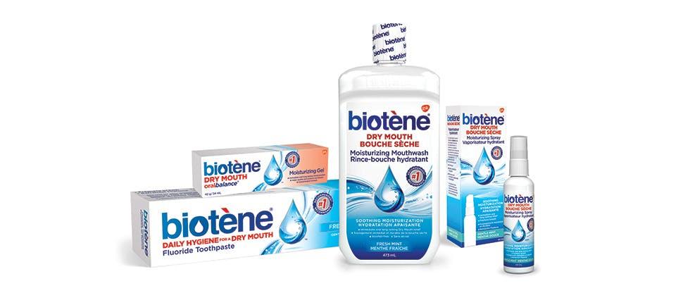 Biotene packshots