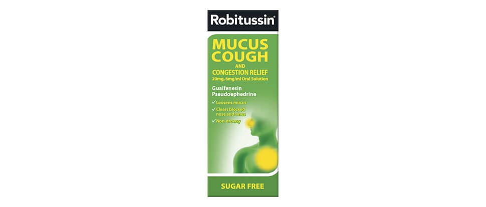 Robitussin mucus cough
