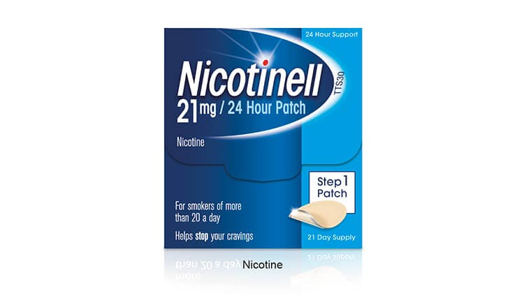 Nicotinell patch pack-shot