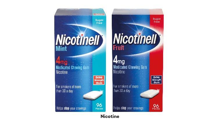 Nicotinell gum range shot