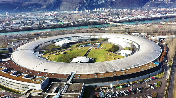 Image of Synchrotron in Grenoble