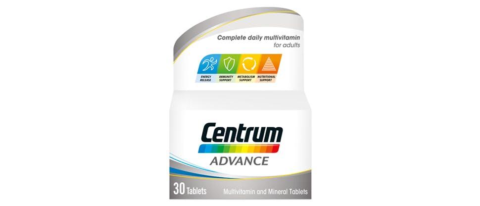 Image of Centrum Advance multivitamin pack