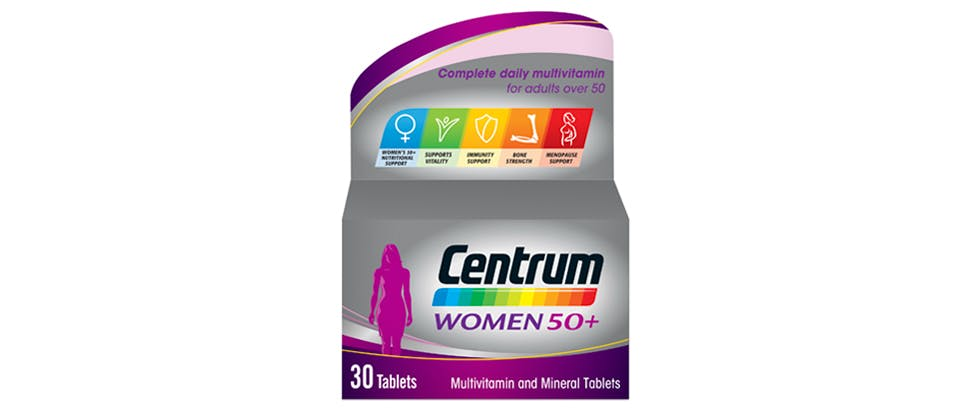 Image of Centrum women 50+ multivitamin pack