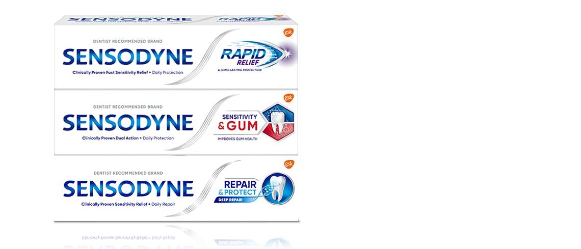 Sensodyne toothpastes image