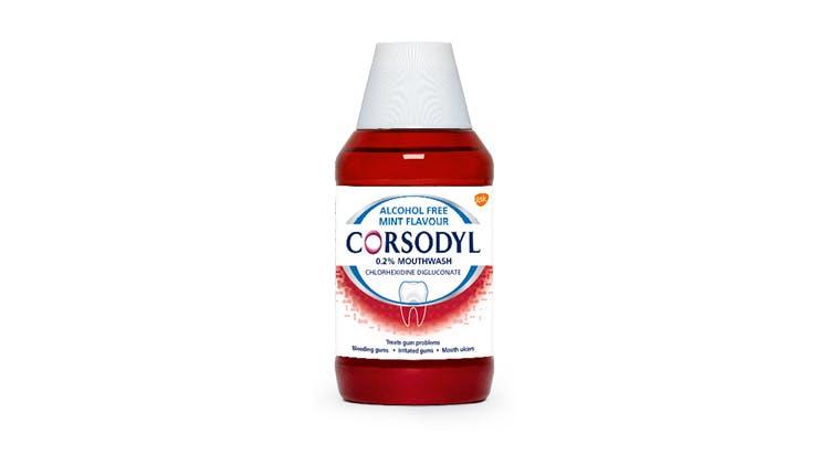 Corsodyl Short-Term Intensive Treatment