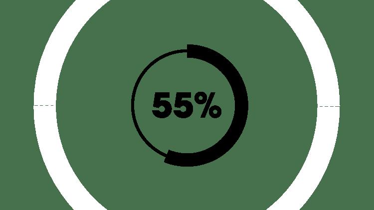 55% icon