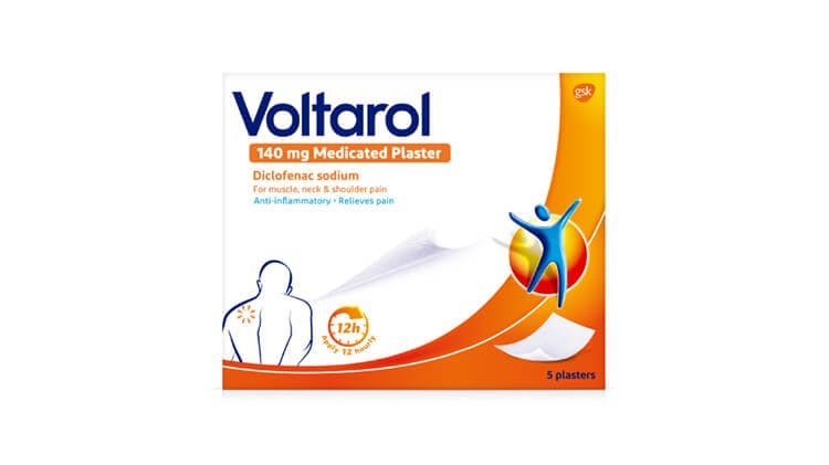 Voltarol 140 mg Medicated Plaster