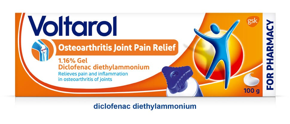 Voltarol Osteoarthritis Joint Pain Relief pack