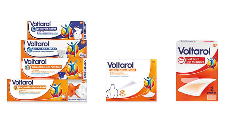 Diclofenac-containing products