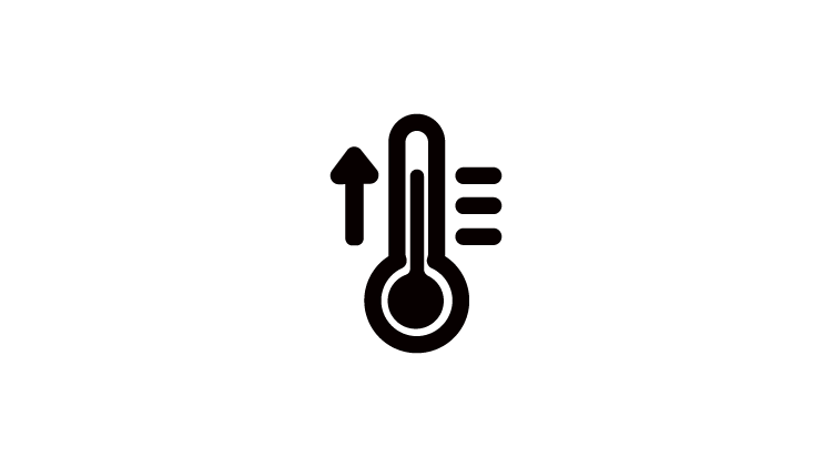 Icon of a thermometer
