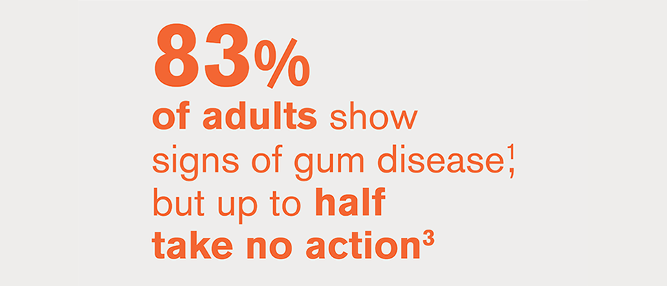 83% show signs; up to half take no action