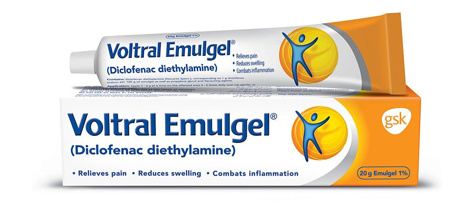 Triple Effect Voltral Emulgel 1% image