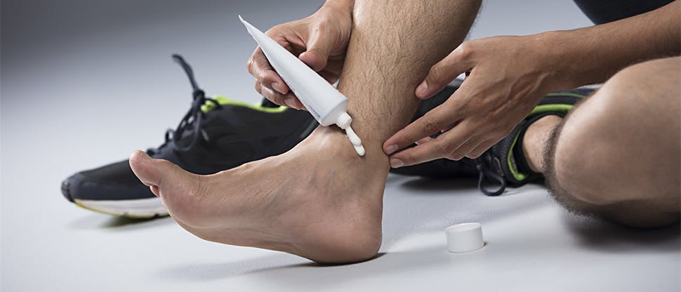 Analgesics can be used to relieve pain from sprains and strains