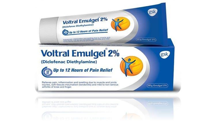 Voltral 12-hour 2.32% Emulgel