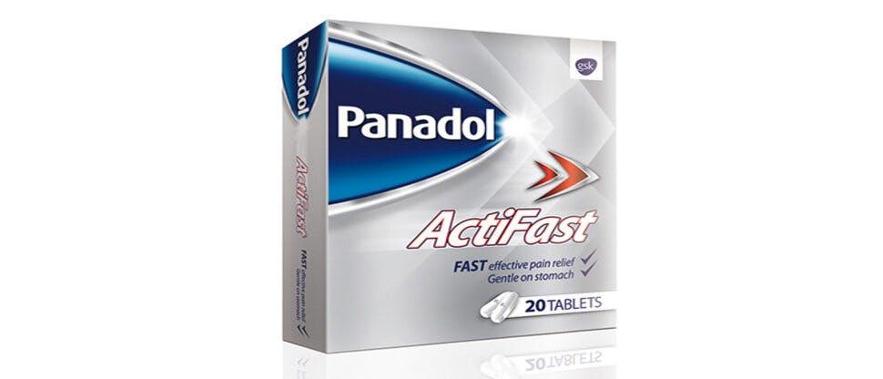 Panadol Actifast pack shot