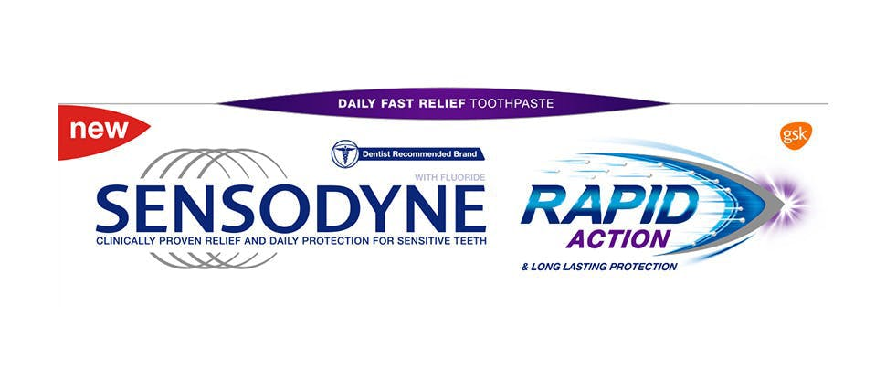 Sensodyne Rapid Action pack shot