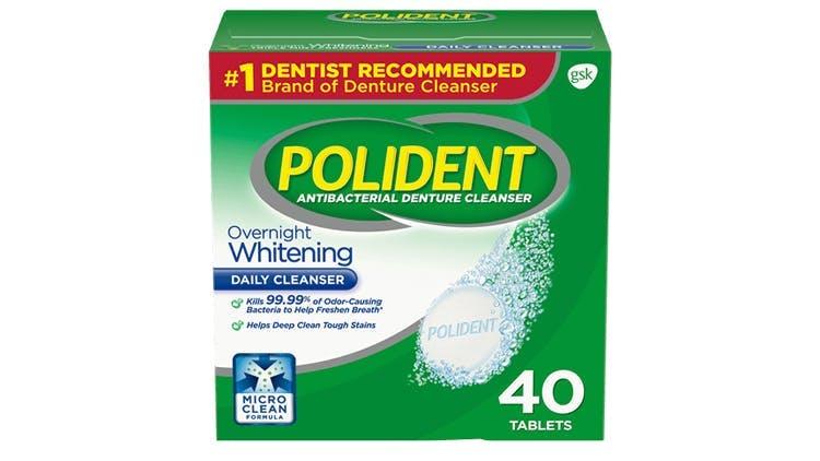 Polident whitening cleanser packshot
