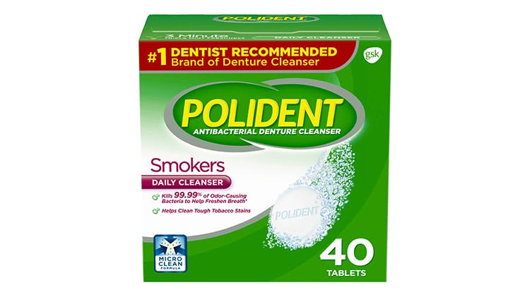 Polident  smokers daily cleansers