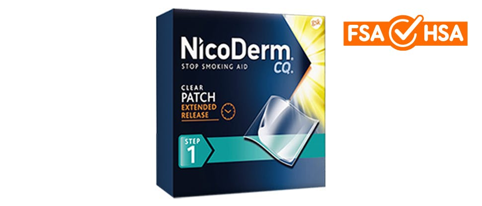 NicoDerm CQ Patch package
